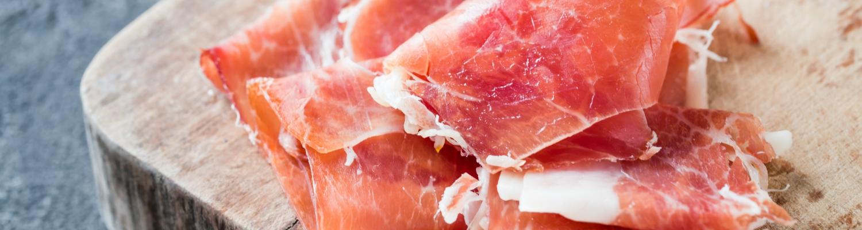 100% natural serrano ham